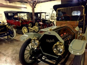 1912 Speedster on display at the Mitchell Car Museum