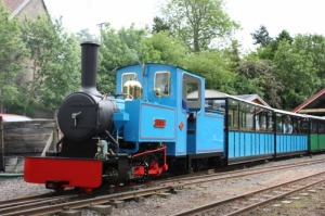 Bunty at Heatherslaw Station