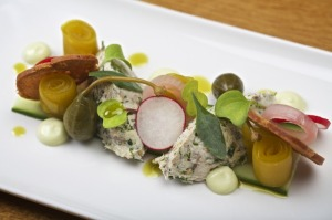 Sample dishes from White Hart menu