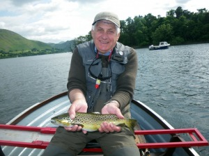 A nice Ullswater Trout