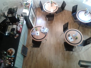 The Curio Cafe at Moneys Mill