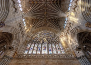 The longest stone gothic ceiling in the world