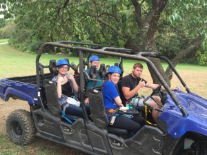6-Seater Vikings to start the zipline tour