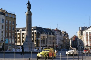 """The """"grand place"""" of Lille"""