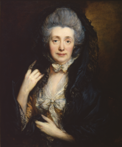 Gainsborough - Portrait of Margaret Gainsborough