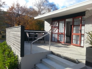 exterior - stairs to upper level units