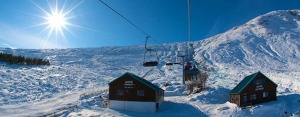Chairlift winter