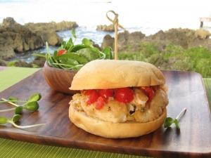 Lionfish Sandwich