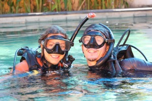 Learn diving on Bali