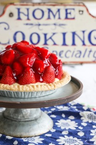 Our Famous Fresh Berry Custard Pie