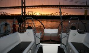 Sunrise at Port Edgar