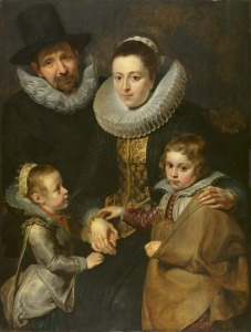 Rubens - Family of Jan Bruegel the Elder