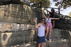 Mrs Macquarie's Chair - Stop 2 on the Historical Gems harbour tour