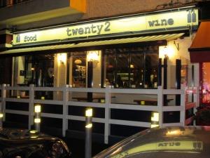 Twenty2 restaurant, Drumcondra