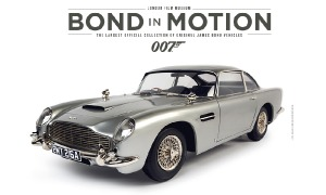 The iconic Aston Martin DB5