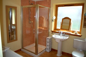 Meiklie Lodge Bathroom/Shower