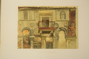 Fondaco de Turchi [The Turkish Merchants' House], Venice, by John Ruskin