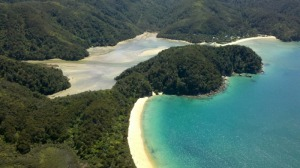 Abel Tasman from above