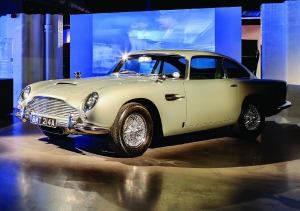 The DB5 from Goldeneye