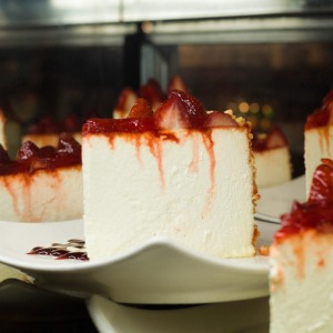 Our famous cheesecake
