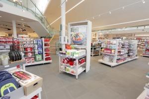 Inside store displays