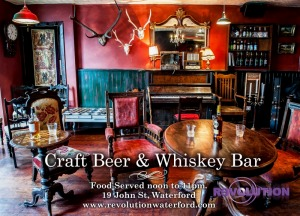 Revolution Craft Beer & Whiskey Bar, Waterford, Ireland