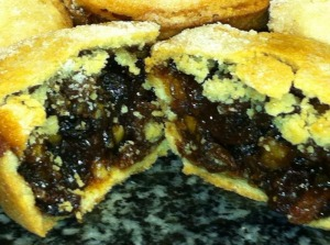 Award winning mince pies