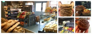 Homemade baked and deli goods as well as local artisan produce available from The Pantry