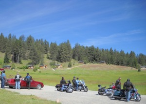 Motorcycle Group at Eden Valley Guest Ranch