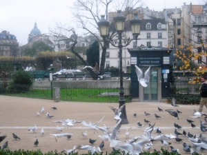 Paris à l'envers