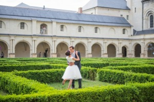Wedding at Fontevraud Abbey