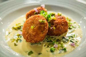 Delicious cod fishcakes