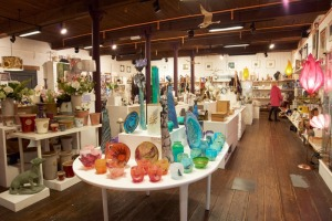 Fisherton Mill's Gallery Shop full of beautiful artist made items