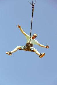 Fun on the Giant Swing