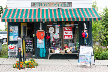 White Squall Town Shop