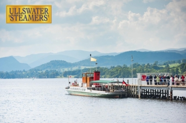 Lady of the Lake at Pooley Bridge Pier