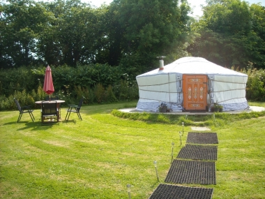 Hemsford Yurt camp