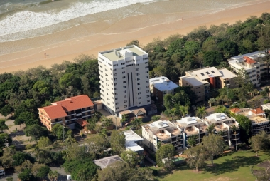Aerial view of 84 The Spit