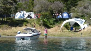 Hot Water Beach Camp