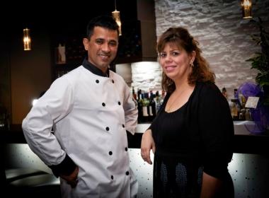 Co Owners, Chef Suman Bhuiyan & General Manager Maria Kalantzis