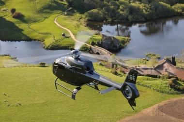 Scenic flights to Hobbiton