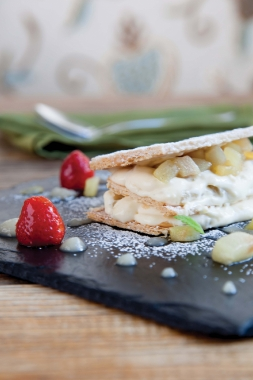 Pear mille-feuille