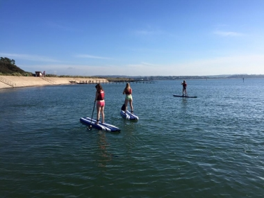 Stand Up Paddleboarding at Dawlish Warren