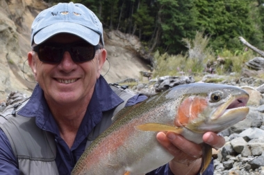 Back country rainbow