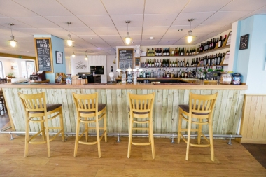 Our relaxed bar