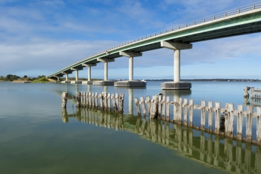 The Goolwa Bridge