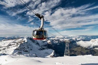 TITLIS cableways, hotels and restaurant