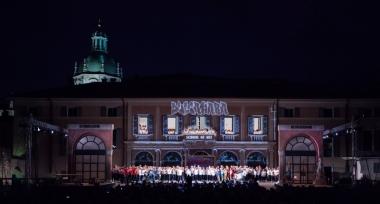 the Arena of Teatro Sociale di Como