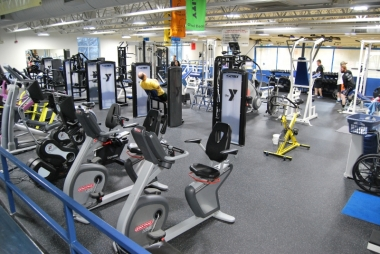 Weight room recently remodeled