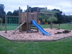 A playground for the littlies plus free use of BBQ